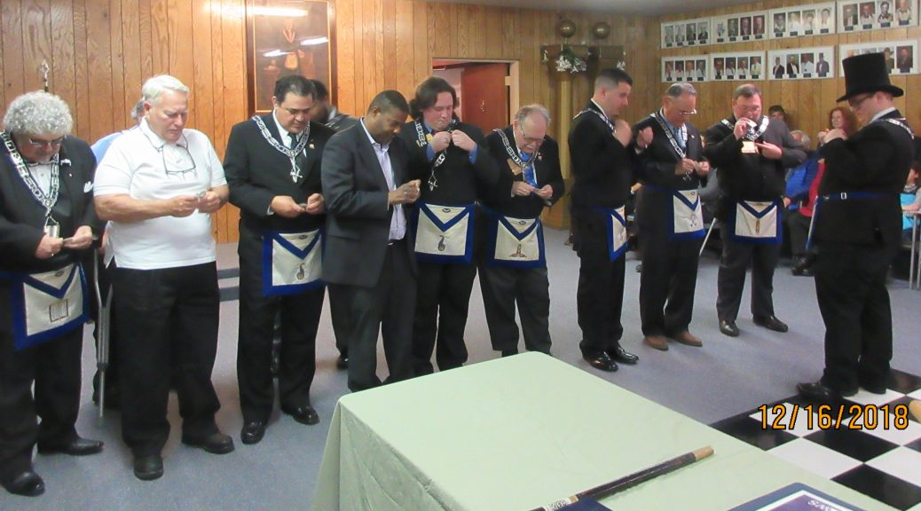 2019 Officers Installed